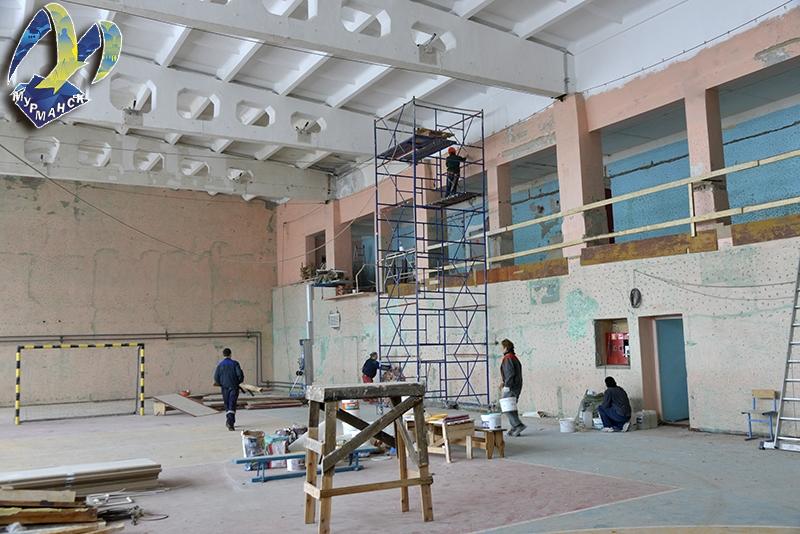 После ремонта в «Авангарде» можно будет играть в баскетбол и волейбол