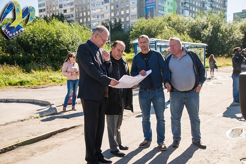 В Мурманске продолжается ремонт Кольского проспекта