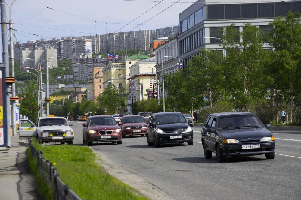 Троллейбусы в Мурманске встали из-за повреждения кабеля в ходе земляных работ