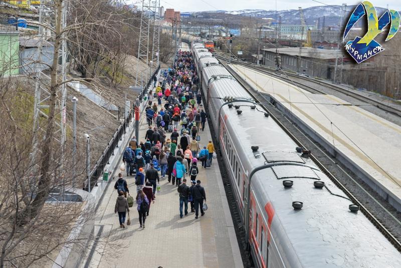 350 мурманских школьников поехали на Черное море